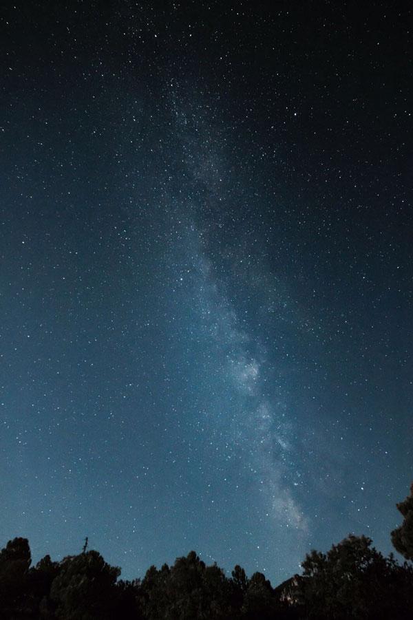 Lluvia estrellas Jaén