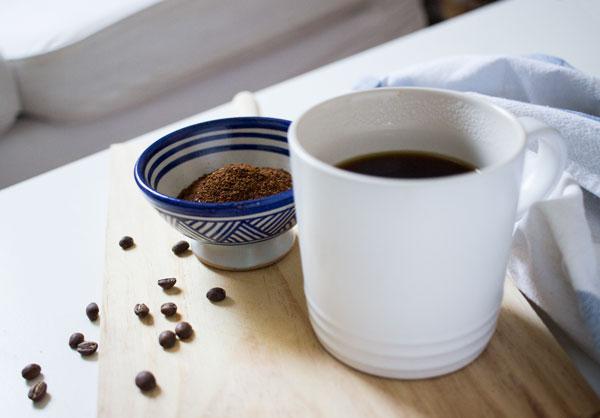 café recién molido en casa
