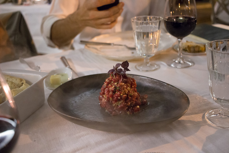 steak tartar fuego