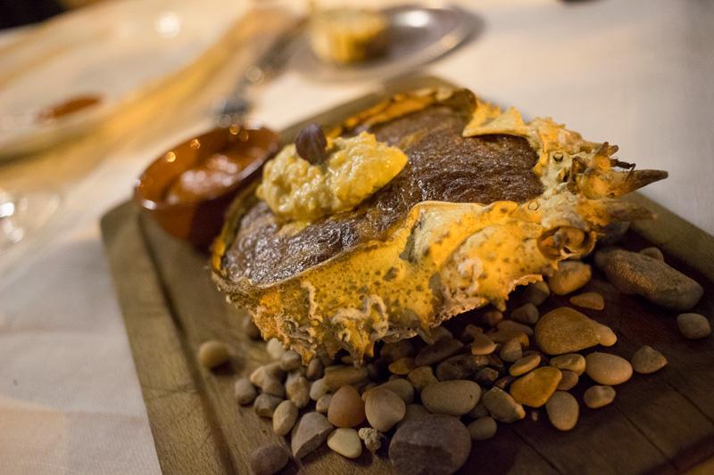 Restaurante fuego tortilla