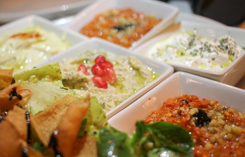 Hummus libanés Fairuz en Madrid