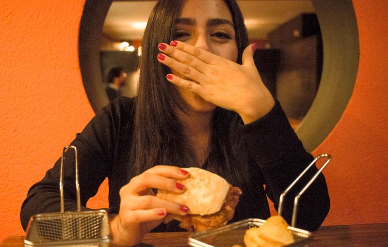Bocadillos americanos en Madrid food blogger