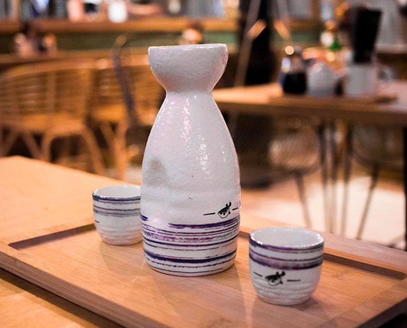Sake en Ramen Shifu