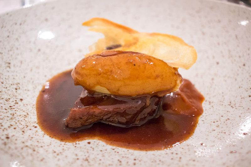 Restaurante Cañadío Madrid Carrillera de Ternera y puré