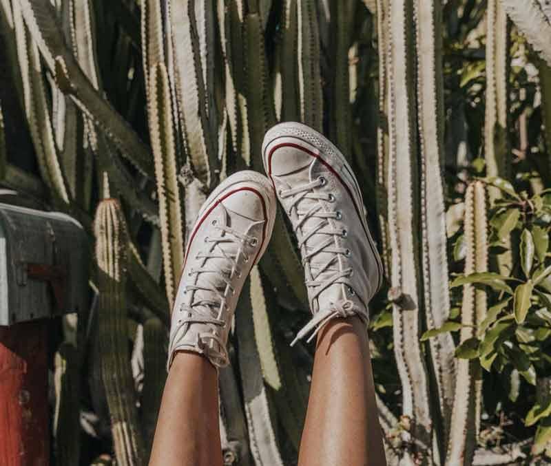 Zapatillas de mujer blancas Blogger