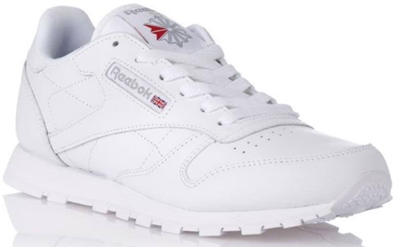 Zapatillas de mujer blancas de Reebok clásicas