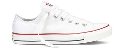 Zapatillas blancas de mujer marca Converse