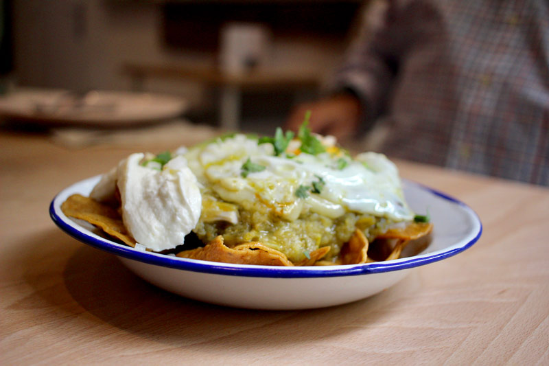 Chilaquiles en Madrid