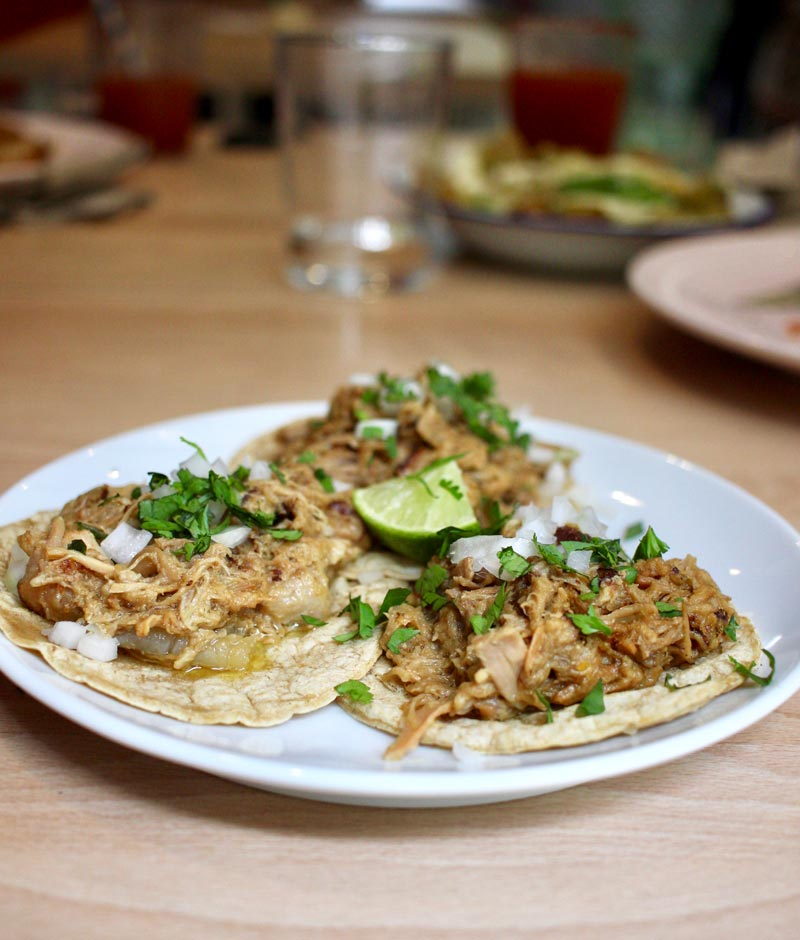 Tacos en Madrid