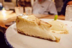 Tarta de queso de Taberna y Media