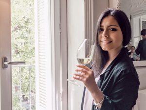 Karime en el aniversario de Belondrade y Lurton