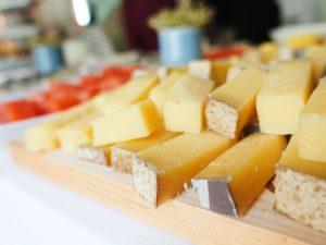 El queso en el aniversario de Belondrade y Lurton