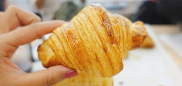 El croissant de Ciento Treinta Grados