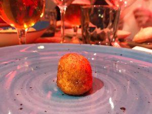 Croquetas del restaurante Ottica en Madrid