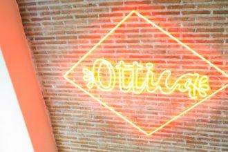 El logo del restaurante Ottica en Madrid