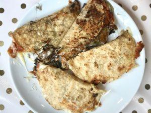 Las quesadillas de Sra Chela, en mi lista de Los mejores brunch de Madrid
