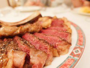 La carne del restaurante Ox's de Madrid