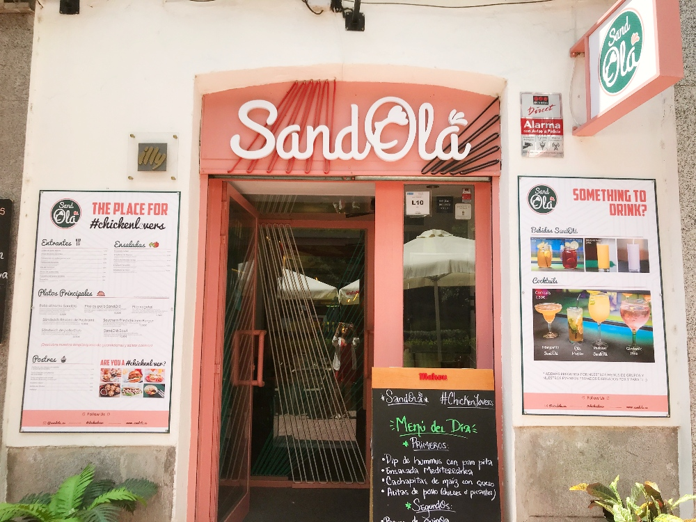 El restaurante SandOlá en Madrid