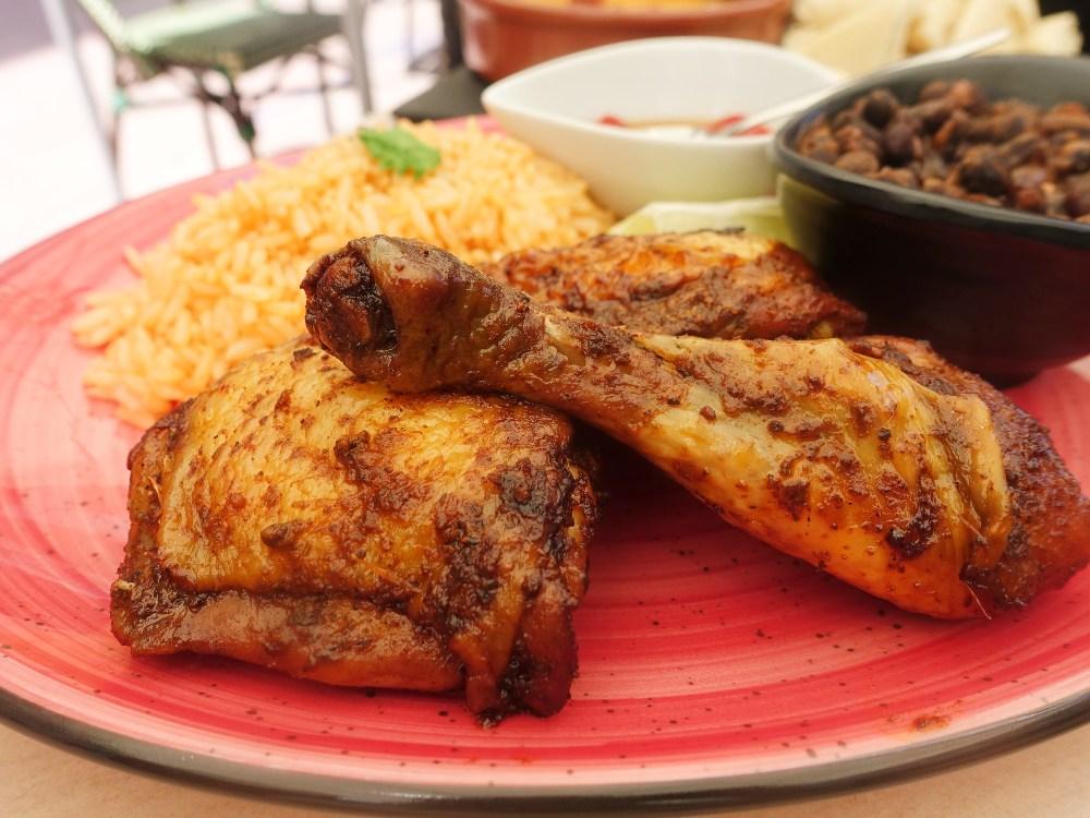 El pollo del restaurante SandOlá