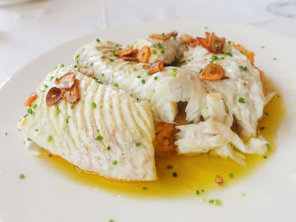 La carta del restaurante La Cañada en Boadilla del Monte