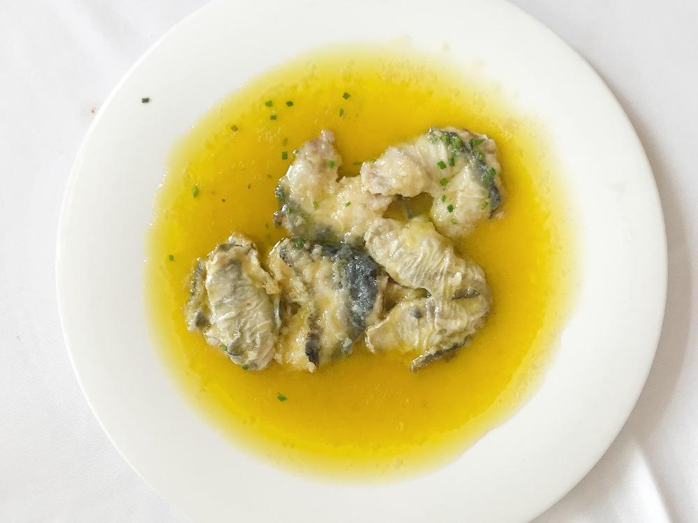 Los platos del restaurante La Cañada en Boadilla del Monte
