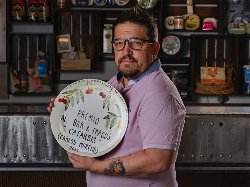 Premios Gastronomía 2019 Carlos Moreno