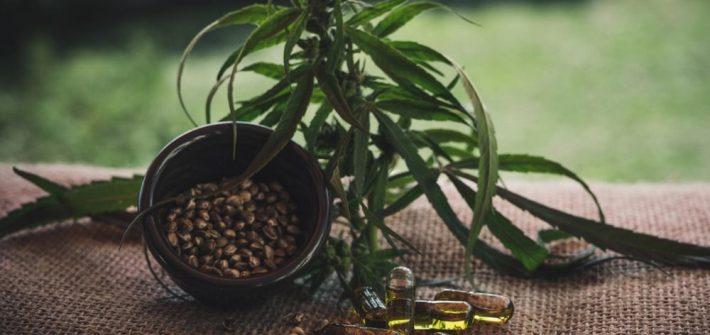 Aceite de cannabis en la cosmética