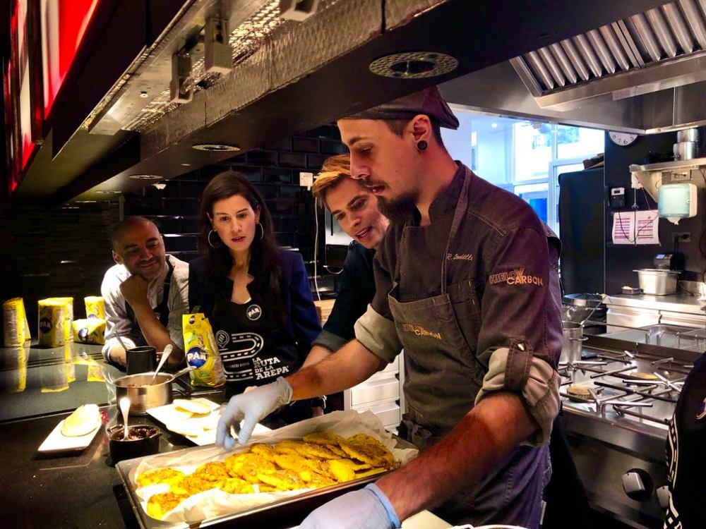 Restaurantes de La Ruta de la Arepa Madrid