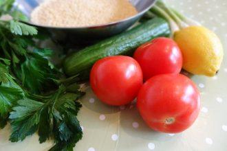 Receta de tabule con AOVE Arbequina, ingredientes
