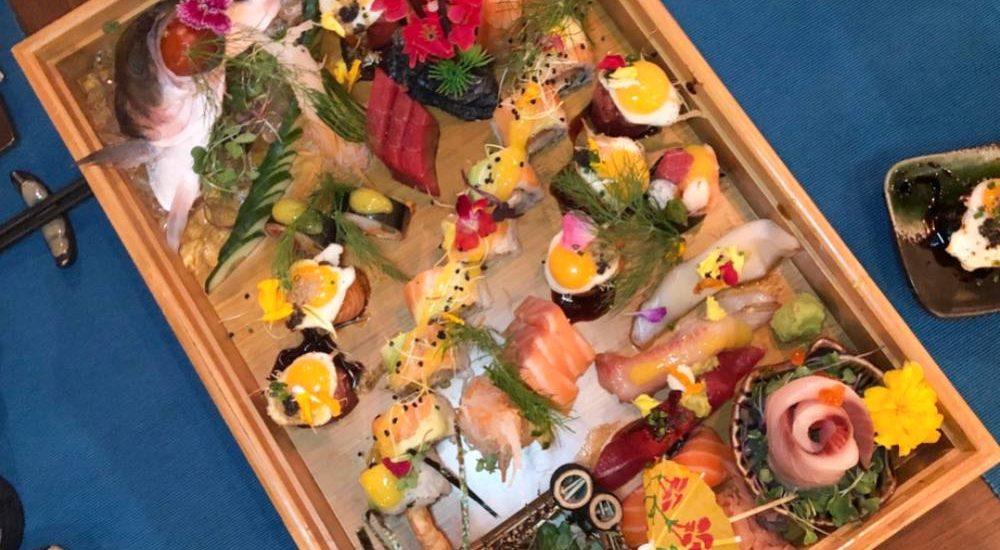 Sushi del restaurante Kiboka