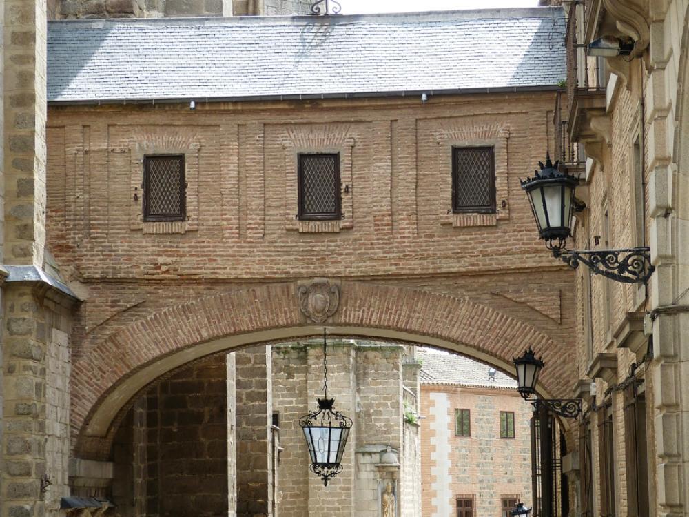 San Valentín en Toledo, centro histórico