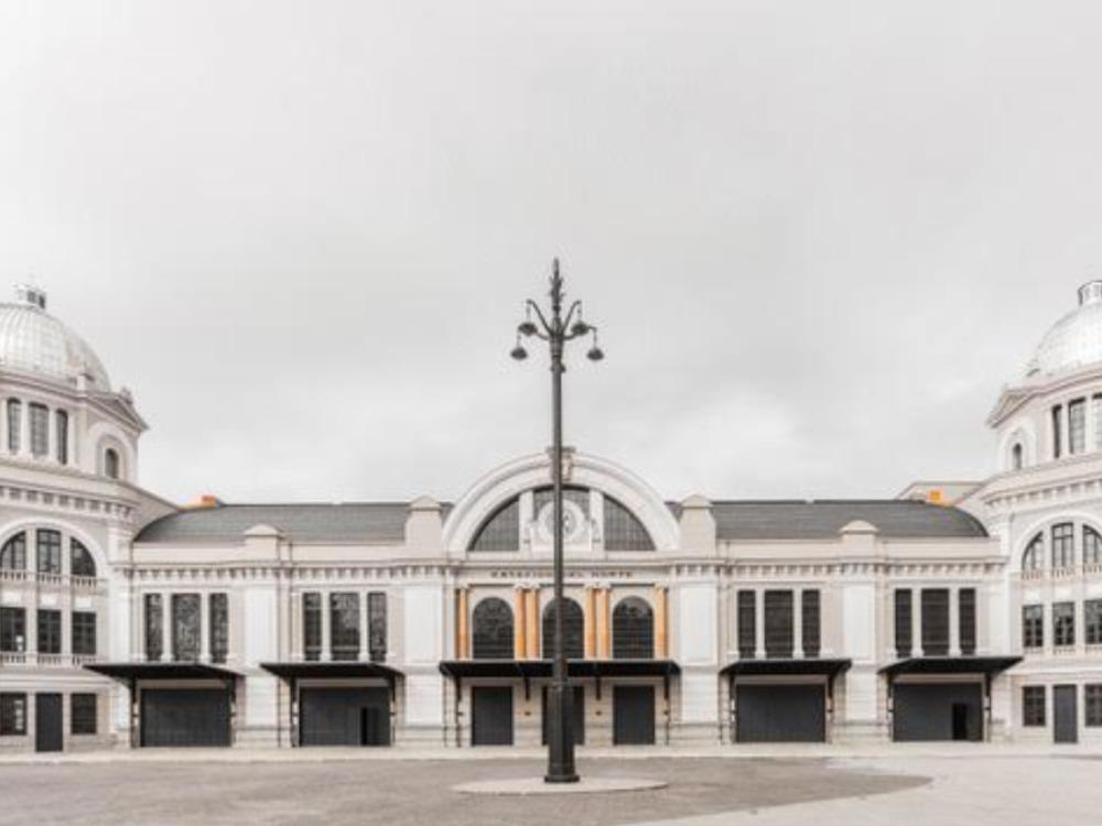 Se convierte la Estación de Príncipe Pío en teatro
