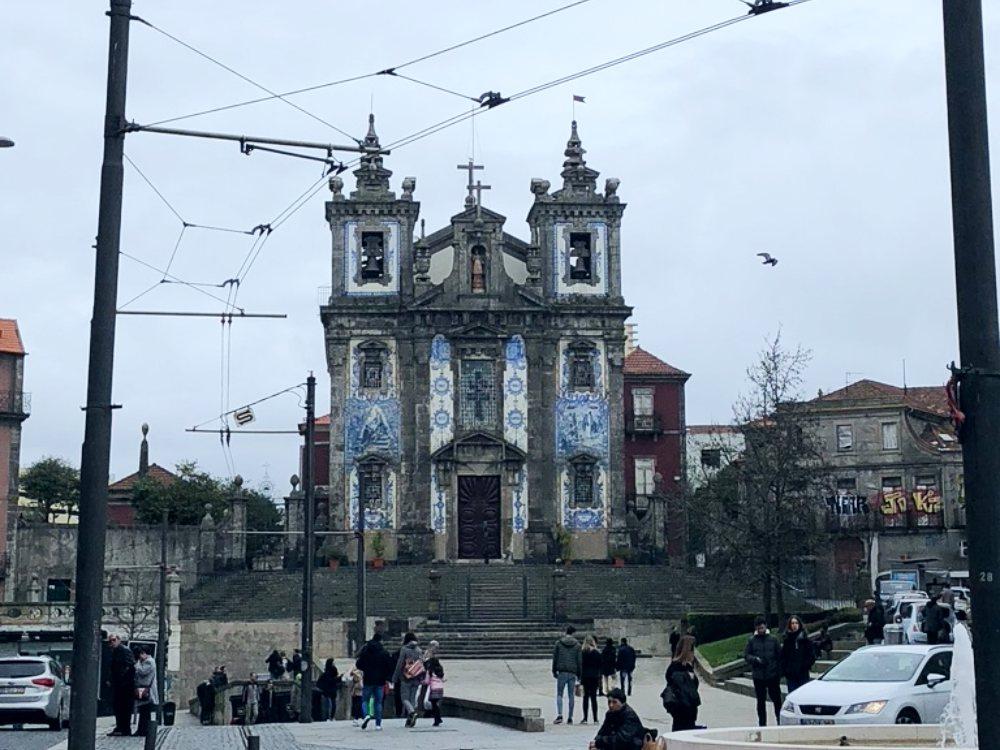 Qué ver en Oporto iglesia
