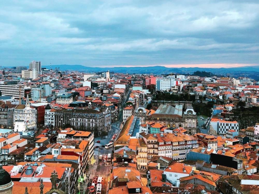 Qué ver en Oporto, vistas Torre Clérigos