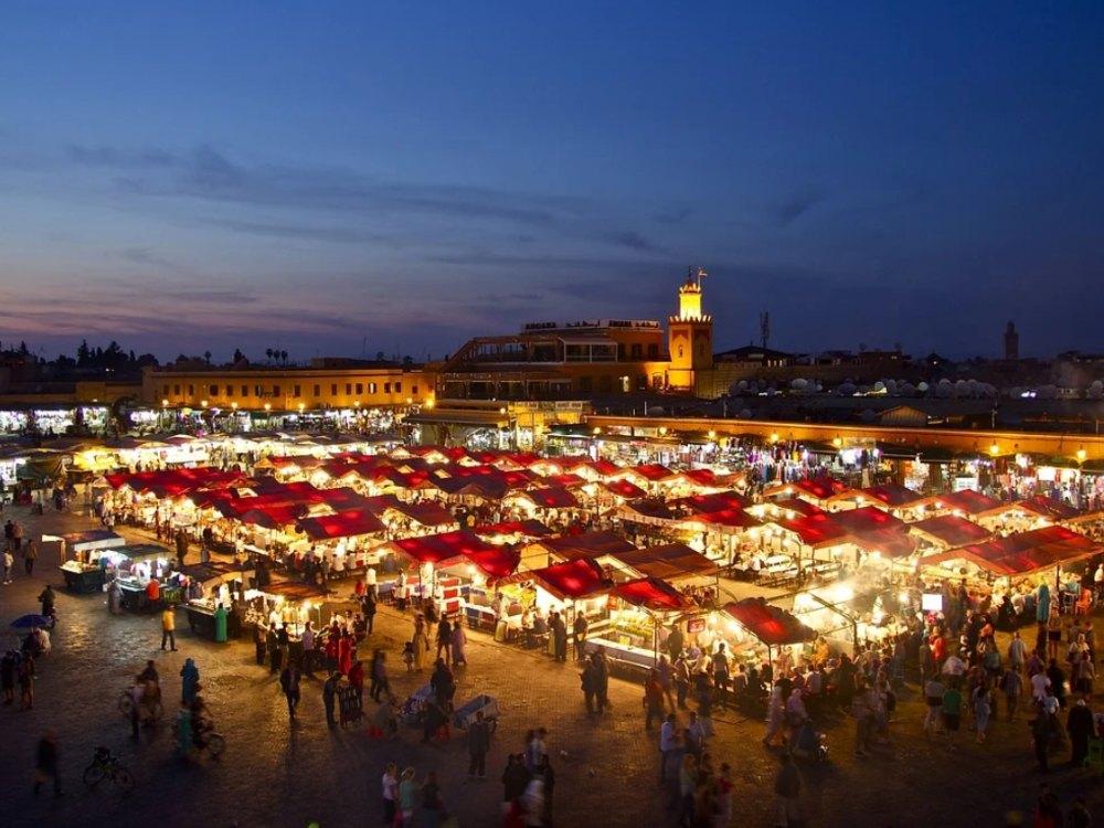Razones para viajar a Marrakech plaza