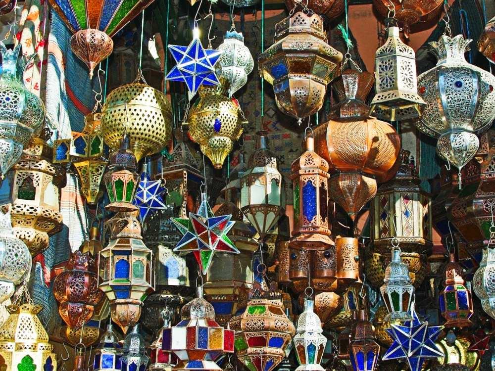 Razones para viajar a Marrakech mercadillo