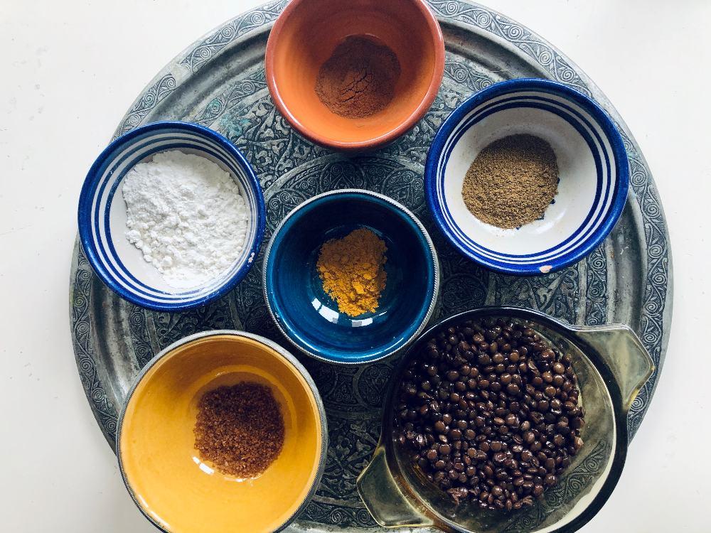Ingredientes de la receta de mejadra