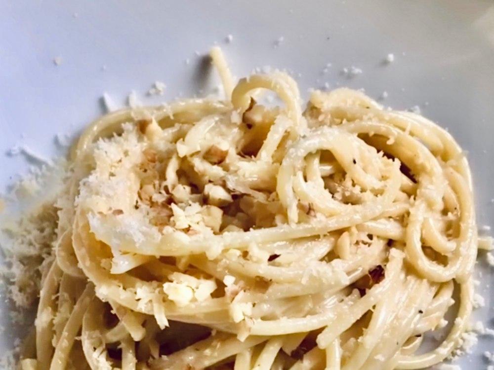 Receta fácil de pasta con salsa de queso azul