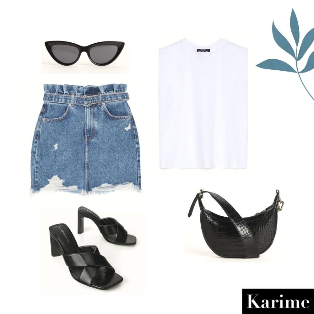 Ideas de outfits de primavera de Bershka