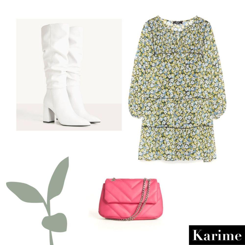 Ideas de outfits de primavera vestido Bershka