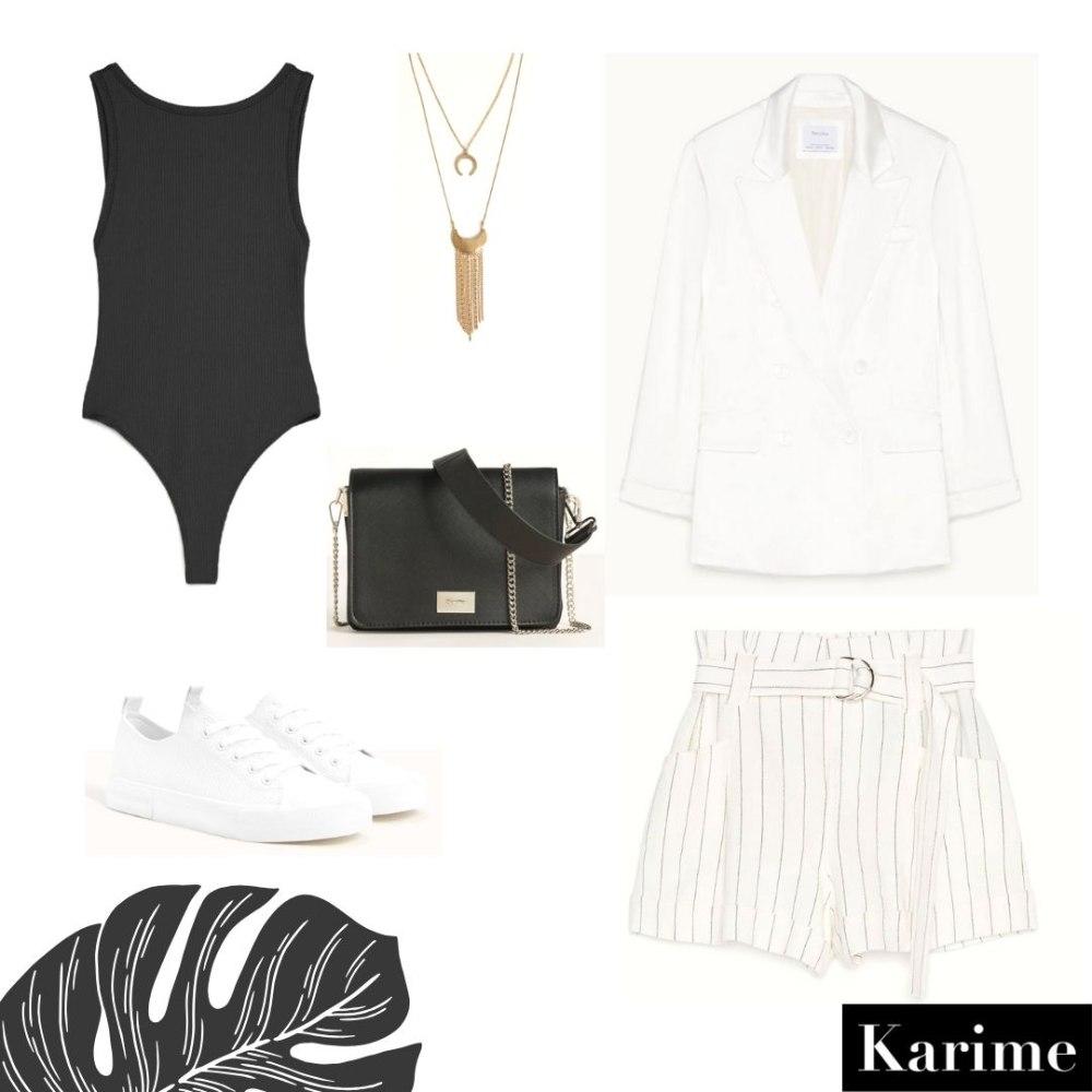 Ideas de outfits de primavera de Bershka elegante