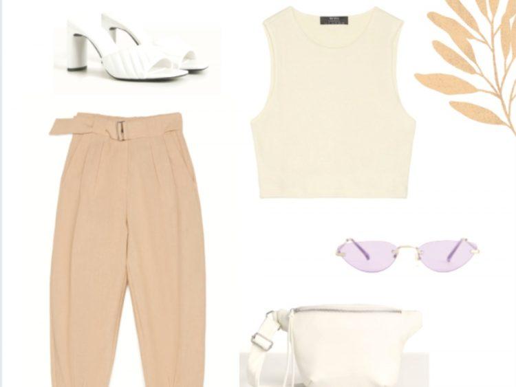 Ideas de outfits o looks de primavera de Bershka