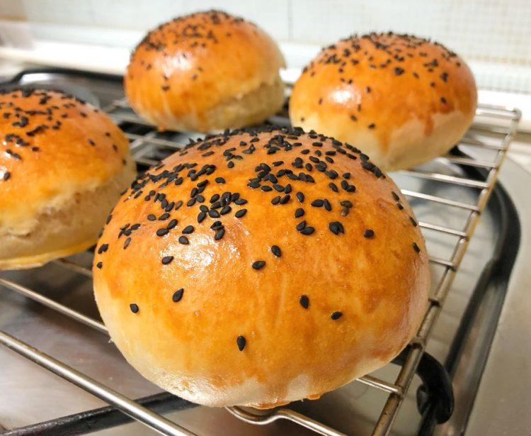 Receta de pan casero de hamburguesa casero