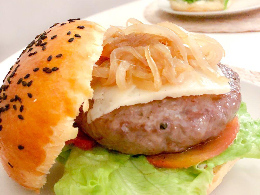 Receta fácil de pan de hamburguesa
