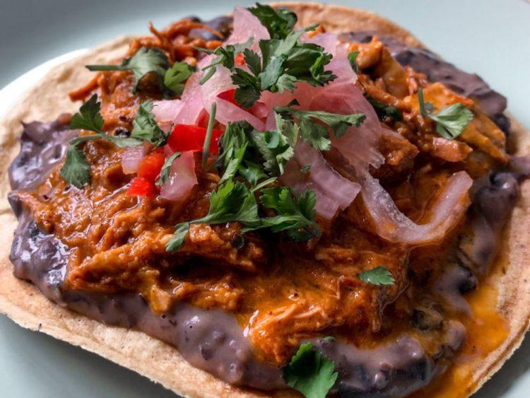 Receta de taco de cochinita pibil