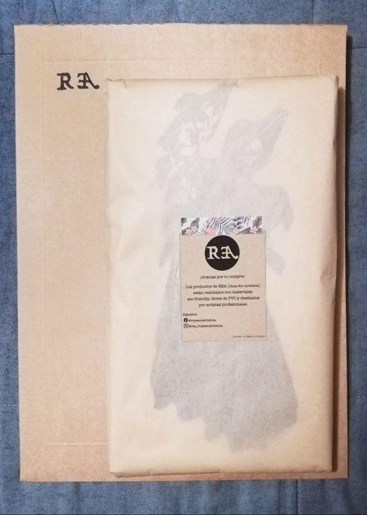 Embalaje de REA, marca de ropa ecofriendly