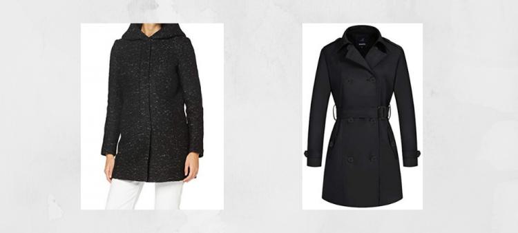 abrigo llevar vestido largo